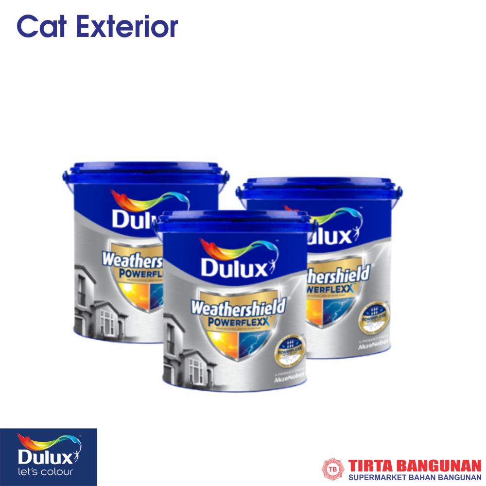 Dulux Weathershield Powerflex 2.5 Ltr (Tinting Warna)