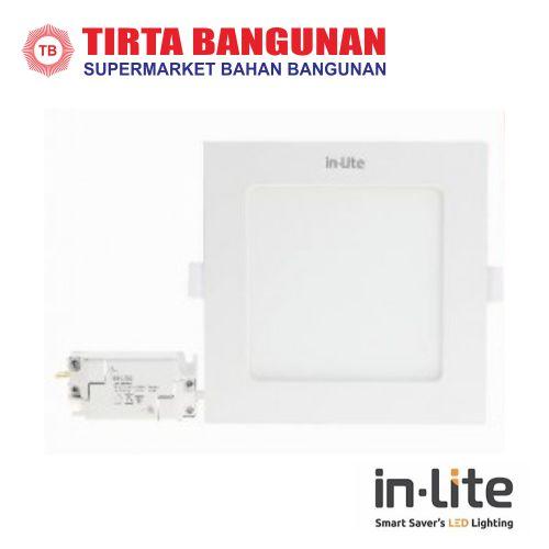 IN-Lite INPS626S Downlight Inbow Kotak 9 Watt Kuning
