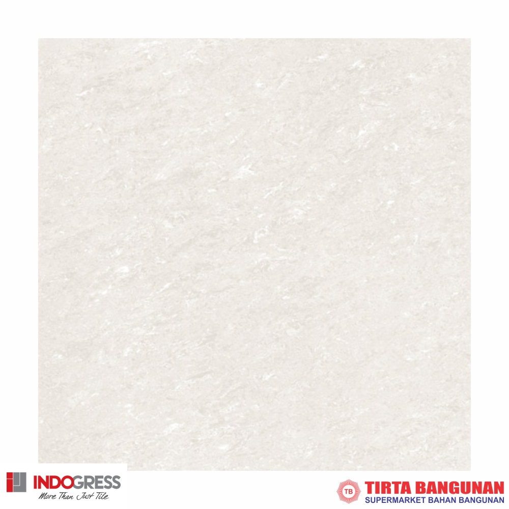 Indogress Crystal White 60x60cm
