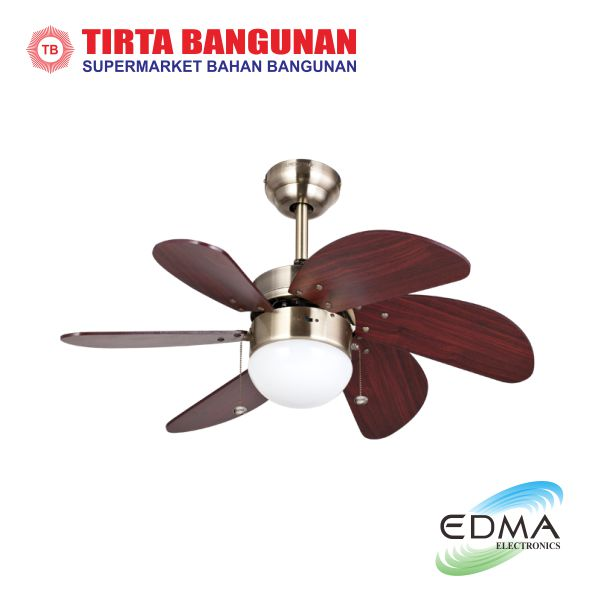 "MT.Edma Ceiling Fan 30"" Pilot AB"