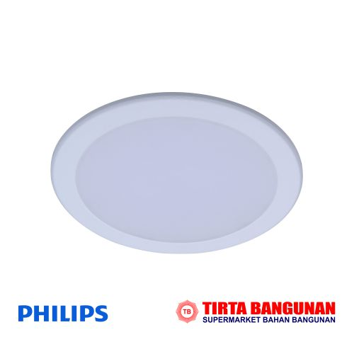 "Philips DN027B LED9/WW D150 RD 6"" Putih"