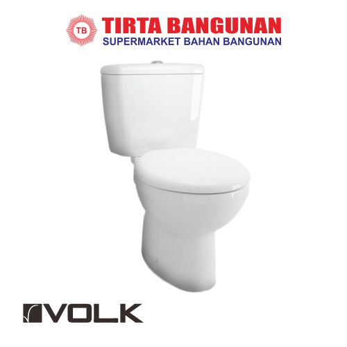Volk Magnolia 663 Two Piece Toilet White