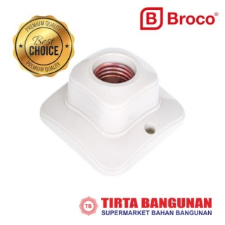 Broco 1211 Fitting Plafon Segi Besar New
