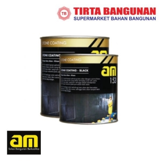 AM 153 Stone Coating Black Glossy 1lt