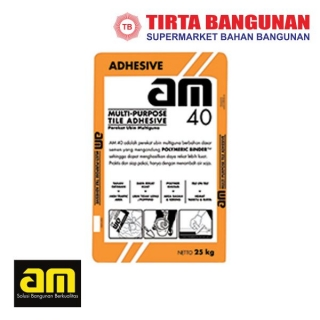 AM 40 Tile Adhesive Grey 25kg