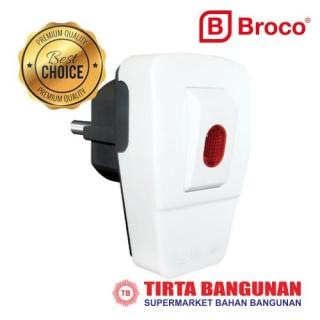 Broco 13311-65 Steker Saklar+Lampu WH