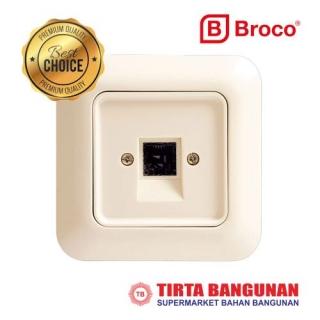 Broco 4171-11 Gracio Stop Kontak Tlp