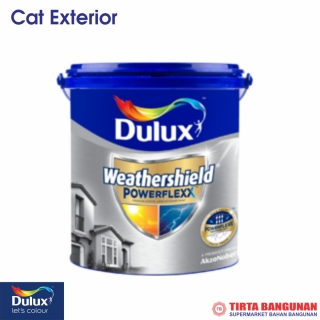 Dulux Weathershield Powerflex (Brilliant White) 20 Ltr