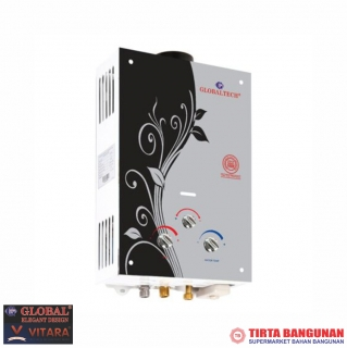 Globaltech Gas Water Heater GLB 09-6L