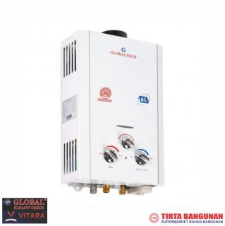 Globaltech Gas Water Heater GLB 12-6A