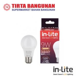 IN-Lite INB009 LEDBulb 9 Watt Putih