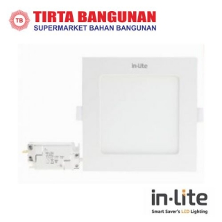 IN-Lite INPS626S Downlight Inbow Kotak 9 Watt Kuning