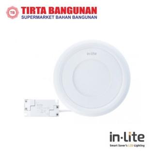 IN-Lite INSS626R Lampu Plafon Outbow Bulat 18 Watt Kuning