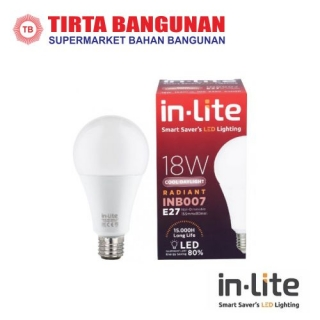 IN-Lite INTE001 Lampu TL Led 18 Watt Putih