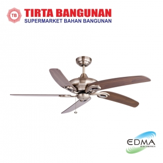"Mt.Edma Ceiling Fan 52"" Modena AB"