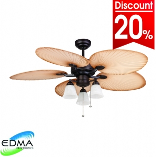 Mt. Edma Ceiling Fan 52in Mediterrania