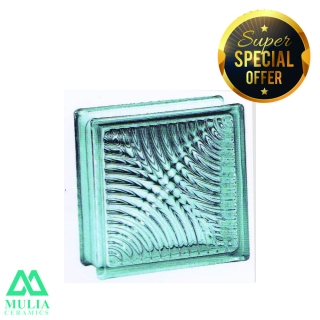 Mulia Glass Block 20x20cm BROMO 95053