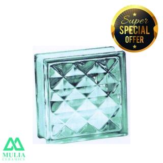 Mulia Glass Block 20x20cm DIAMOND 95021
