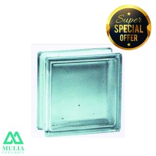 Mulia Glass Block 20x20cm MIST 95067
