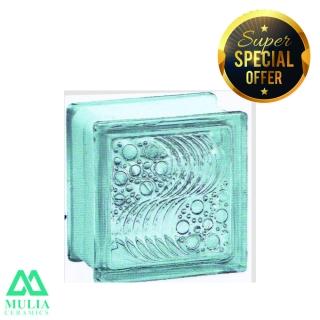 Mulia Glass Block 20x20cm OCEAN 95005