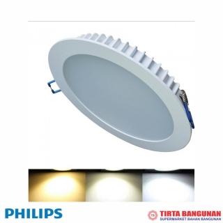 "Philips Downlight DN027B LED 6 5"" 7 Watt"