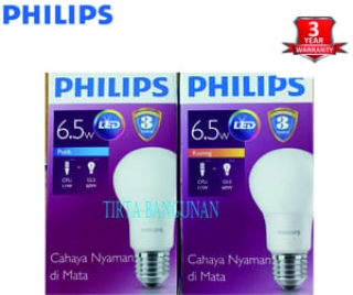Philips LED Bulb 6.5 Watt E27