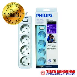 Philips Stop Kontak 4LB Non USB 1.8M