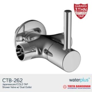 Waterplus+ FWB-SF-CTB-262 Shower Valve w/ Dual Outlet Bar 2.6